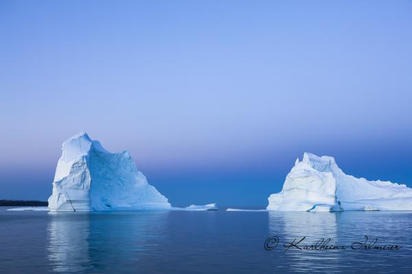 Iceberg at blue hour, Scoresby Sund
