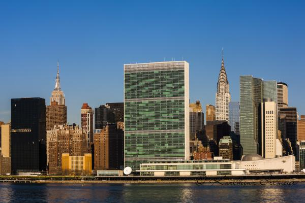 Empire State Building, Chrysler Building, United Nations, Manhattan, New York City