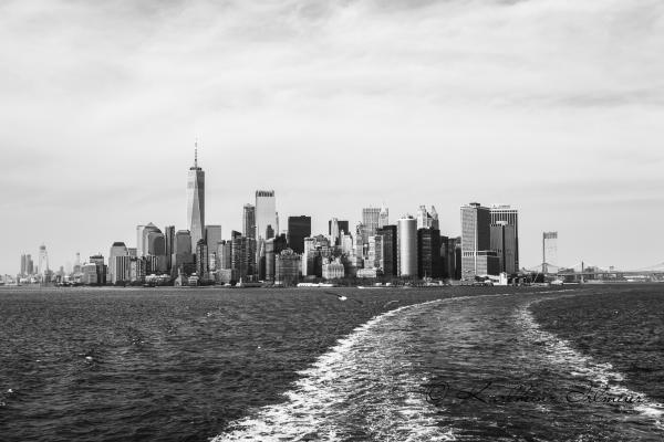 Manhattan, View from Staten Island Ferry, New York City