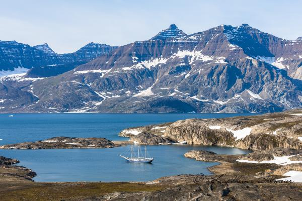Sailing ship, Scoresby Sund