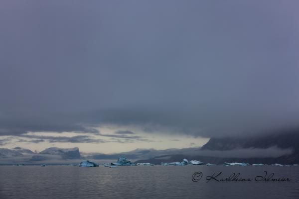 Iceberg at dawn, Scoresby Sund