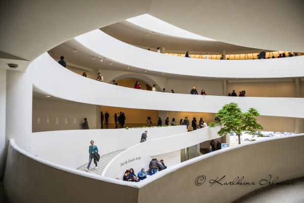 Guggenheim Museum, Manhattan, New York City
