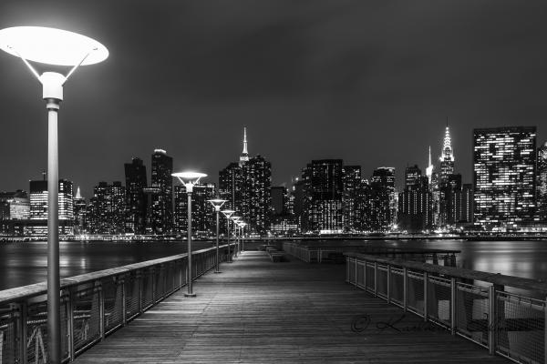 Manhattan, View from Long Island City, Queens, New York City